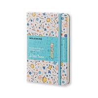 Блокнот Moleskine Limited Le Petit Prince Карманный 192 страницы Белый в Линейку в Тканевой обложке (9х14 см) (8051272895407), фото 1