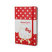 Блокнот Moleskine Limited Hello Kitty Средний 240 страниц Красный Нелинованный (13х21 см) (8052204401666), фото 1