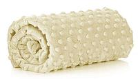 Чехол на кушетку универсальный мягкий плюш прошитый на резинке
