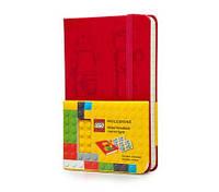 Блокнот Moleskine Limited LEGO-14 Карманный 192 страницы Красный в Линейку (9х14 см) (9788867326181), фото 1