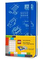 Блокнот Moleskine Limited LEGO-14 Середній 240 сторінок Блакитний Чисті аркуші (13х21 см) (9788867326211), фото 1