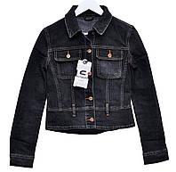 Пиджак женский джинсовый Crown Jeans модель 448 (CPNSS HB) Vintage denim collection
