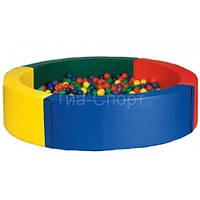 Сухой бассейн круглый (200*40 см)
