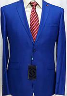 Великолепный светло-синий мужской костюм Giotelli
