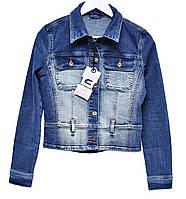 Пиджак женский джинсовый Crown Jeans модель 448 (NEX) Vintage denim collection