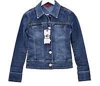 Пиджак женский джинсовый Crown Jeans модель 461 (Lady) Vintage denim collection