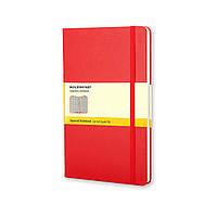 Блокнот Moleskine Classic Красный Карманный 192 страницы в Клетку (9х14 см), фото 1