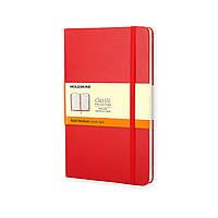Блокнот Moleskine Classic Красный Карманный 192 страницы в Линейку (9х14 см), фото 1
