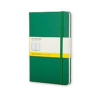 Блокнот Moleskine Classic Зеленый Карманный 192 страницы в Клетку (9х14 см) (9788866136286), фото 1