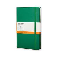 Блокнот Moleskine Classic Зелёный Карманный в Линейку (9х14 см), фото 1