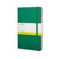 Блокнот Moleskine Classic Зеленый Карманный 192 страницы Нелинованный (9х14 см) (9788866136293), фото 1