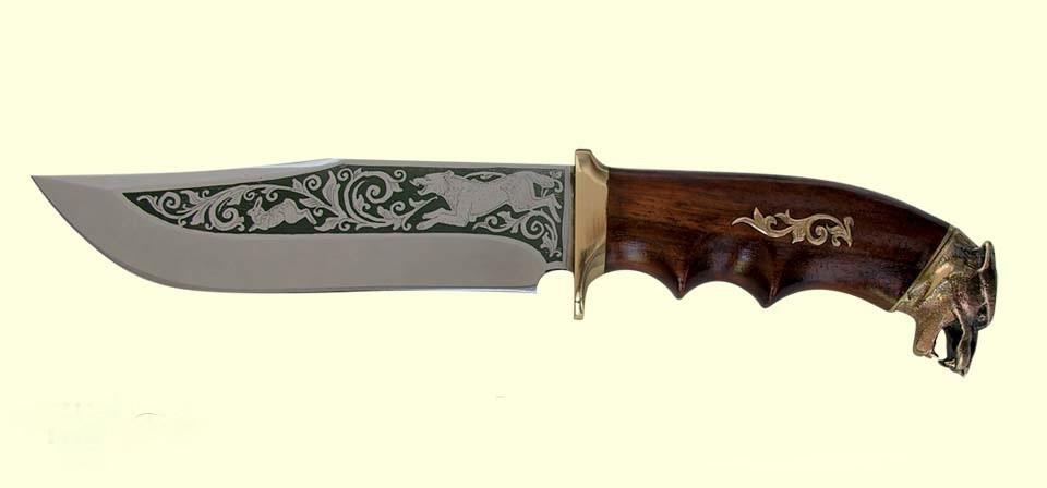 Охотничий нож Спутник Волк
