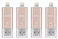 Внешний накопитель сертифицированный (MFI) HOCO UD2 Flash Drive USB 3.0, 16 Gb для Apple, lightning
