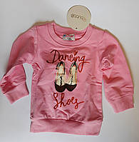 Джемпер для девочек Dancing на 6-9 месяцев Розовый Хлопок 152-051(68) Bubble Турция