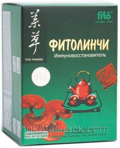 Фитолинчи чай пакетик 1.5 г. № 20