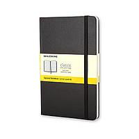 Блокнот Moleskine Classic Черный Средний 240 страниц в Клетку (13х21 см) (9788883701139), фото 1