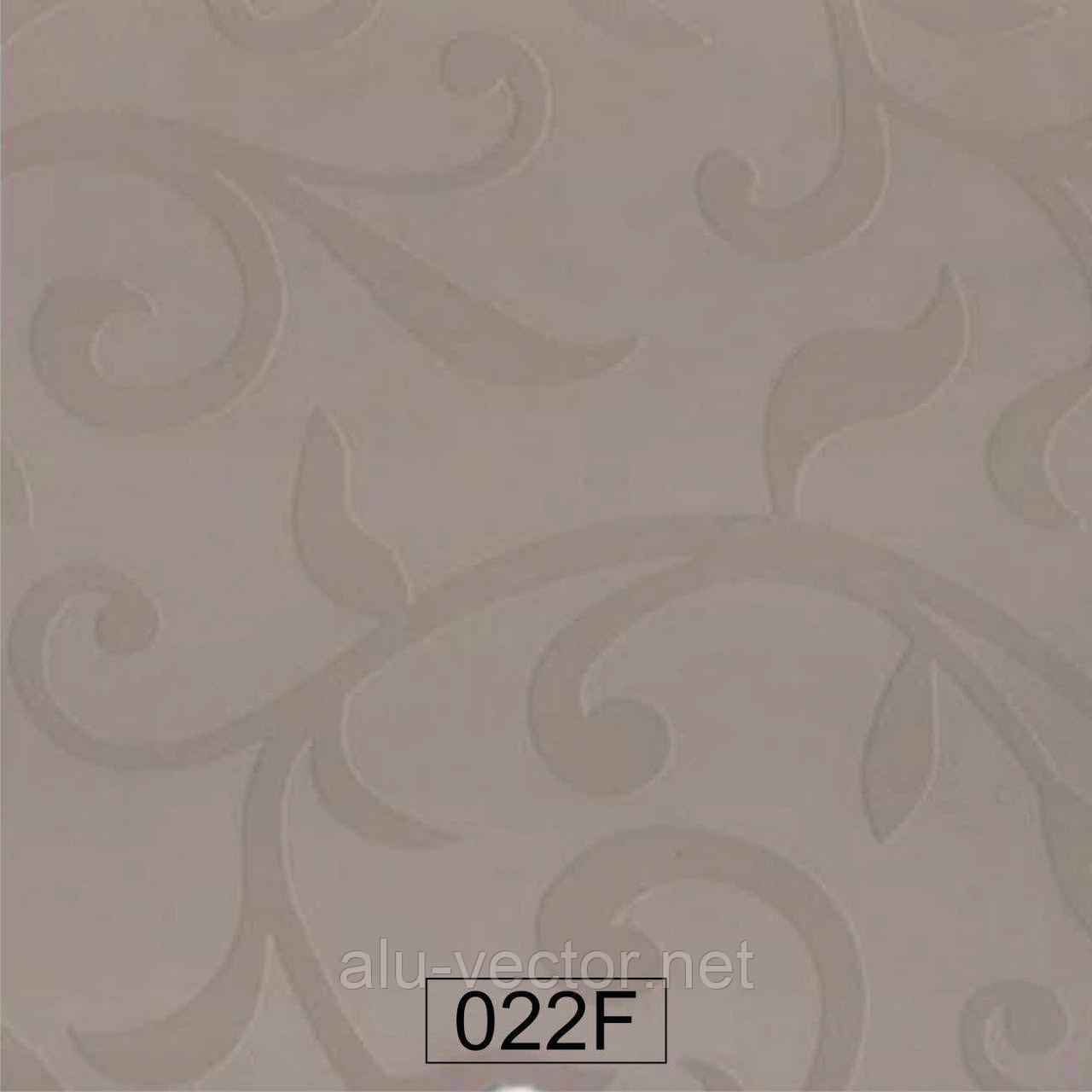 Пластик 022 F капучино полуматовый цветок