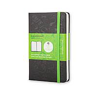 Блокнот Moleskine+ Evernote Карманный 192 страницы Черный в Линейку (9х14 см) (MM710EVER) (9788866137603)