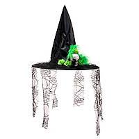 Шляпа ведьмы с черепом
