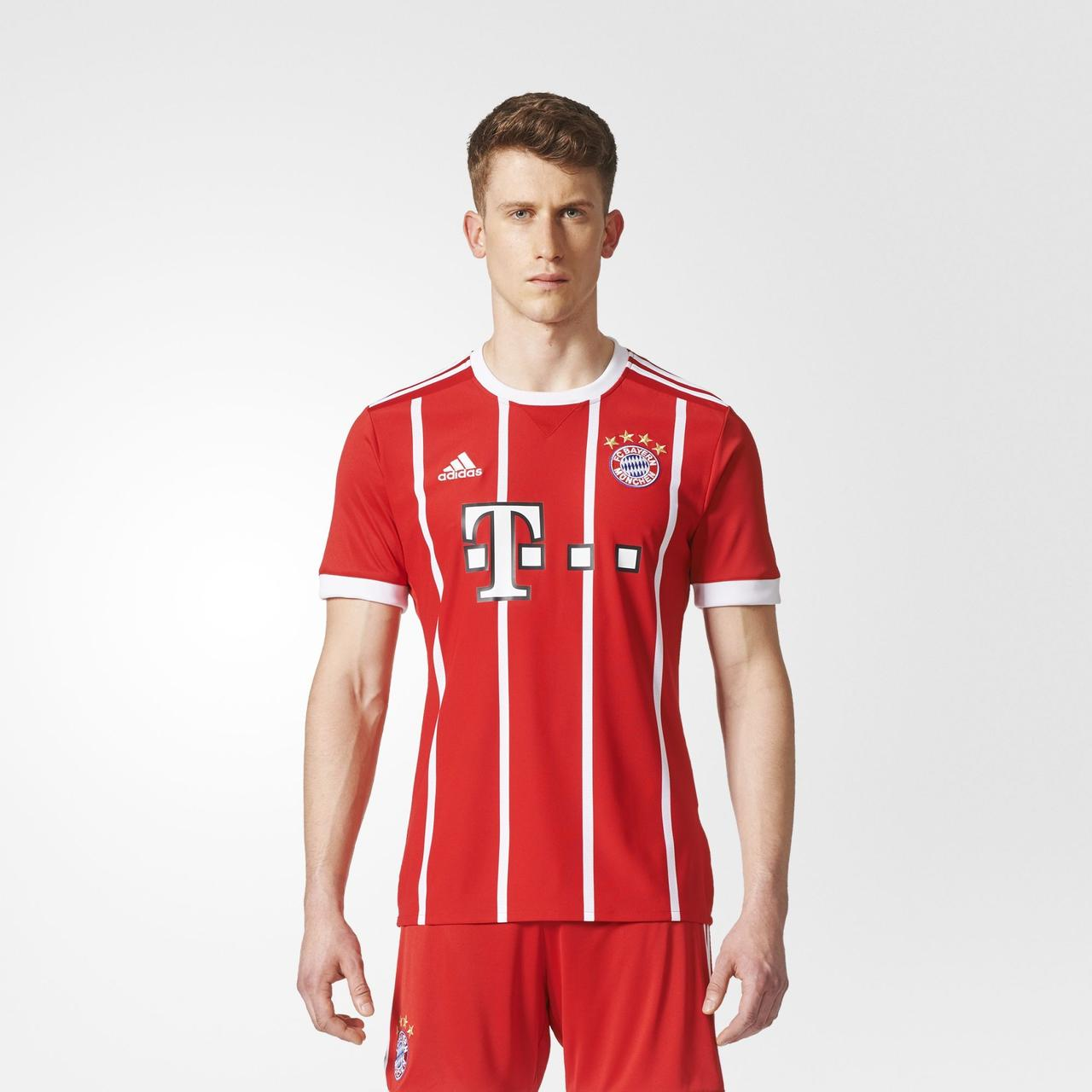 Мужская футболка Adidas Performance FC Bayern Munich Home (Артикул: AZ7961)