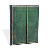 Блокнот Paperblanks Старая кожа Нефрит Большой в Линейку (18х23 см) (PB1428-7), фото 1