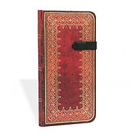 Блокнот Paperblanks Старая кожа Фольгированное тиснение Слим в Линейку (9,5х18 см) (PB5910) (9781551565910), фото 1