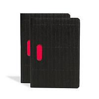 Блокнот Paper-Oh Cahier Ondulo В7 Чорний в Клітинку 2 шт. (8,8х12,5 см) (OH9233-9) (9781439792339), фото 1