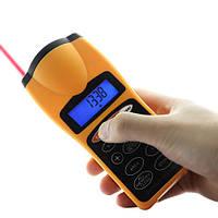 Ультразвуковой дальномер с лазерной указкой с LCD