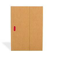 Блокнот Paper-Oh Ondulo B5 Бежевый с Чистыми листами (17,6х25 см) (OH9119-6) (9781439791196)