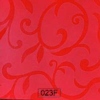 Пластик 023 F оранжевый полуматовый цветок
