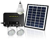 Светильник на солнечной батарее 4W Solar Kit with 3 Led Lights, фото 1