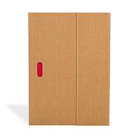 Блокнот Paper-Oh Ondulo А5 Бежевий в Лінію (14,8х21 см) (OH9114-1) (9781439791141)