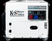 Дизельный генератор Könner & Söhnen KS 9200HDE-1/3 ATSR (7.5 кВт)