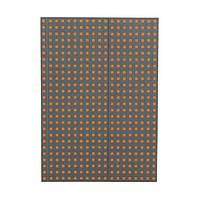 Блокнот Paper-Oh Quadro B5 Сірий на Помаранчевому в Лінію (17,6х25 см) (OH9058-8) (9781439790588)