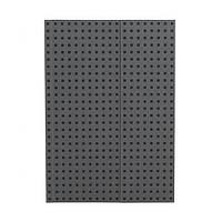 Блокнот Paper-Oh Quadro B5 Сірий на Чорному з Чистими листами (17,6х25 см) (OH9055-7) (9781439790557)