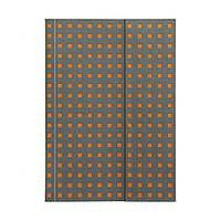 Блокнот Paper-Oh Quadro B6 Сірий на Помаранчевому в Лінію (12,5х17,6 см) (OH9068-7) (9781439790687)