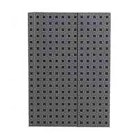 Блокнот Paper-Oh Quadro B6 Сірий на Чорному з Чистими листами (12,5х17,6 см) (OH9065-6) (9781439790656)