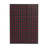 Блокнот Paper-Oh Quadro B6 Чорний на Червоному в Лінію (12,5х17,6 см) (OH9060-1) (9781439790601)