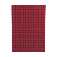 Блокнот Paper-Oh Quadro B6 в Лінію Червоний на Чорному (12,5х17,6 см) (OH9066-3) (9781439790663)