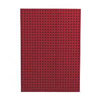 Блокнот Paper-Oh Quadro А4 Красный на Чёрном в Линию (21х29,7 см) (OH9046-5), фото 1