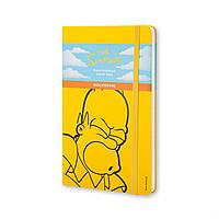Блокнот Moleskine Limited Simpsons Средний 240 страниц Желтый в Линейку (13х21 см) (9788867324286), фото 1