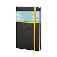 Блокнот Moleskine Limited Simpsons Средний Чёрный с Чистыми листами (13х21 см), фото 1