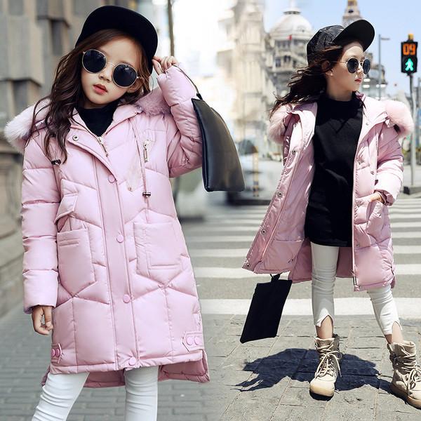 Куртка зимняя детская спинка длиннее