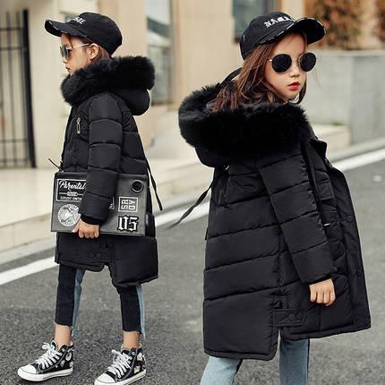 Куртка зимняя детская спинка длиннее, фото 2