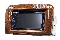 Carav Переходные рамки Carav 11-409 2-DIN MERCEDES-BENZ SL (R230) 2001+ wooden