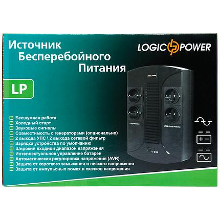 ИБП LogicPower LP 650VA-PS (390 Вт), фото 2
