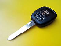 Заготовка автомобильная  Toyota с местом под 2 кнопки T-002