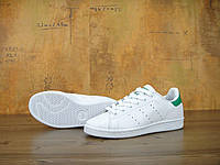 Женские кроссовки Adidas Stan Smith White/Green 36, фото 1