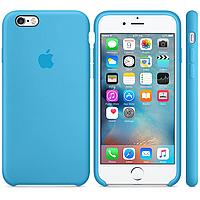 IPhone 6s Silicone Blue  - силиконовый чехол