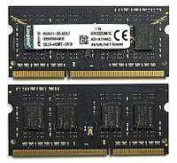 Память SODIMM DDR3 1Gb 1333 PC3-10600 (KVR1333D3N9/1G) ДДР3 2Гб для ноутбуков, универсальная